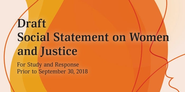 Women & Justice: Group Study on New Teachings
