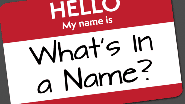 Names Deliver Meaning Image