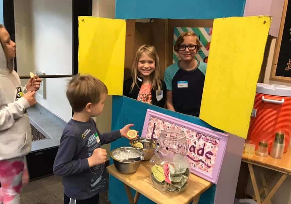 Serving Lemonade – Making A Difference