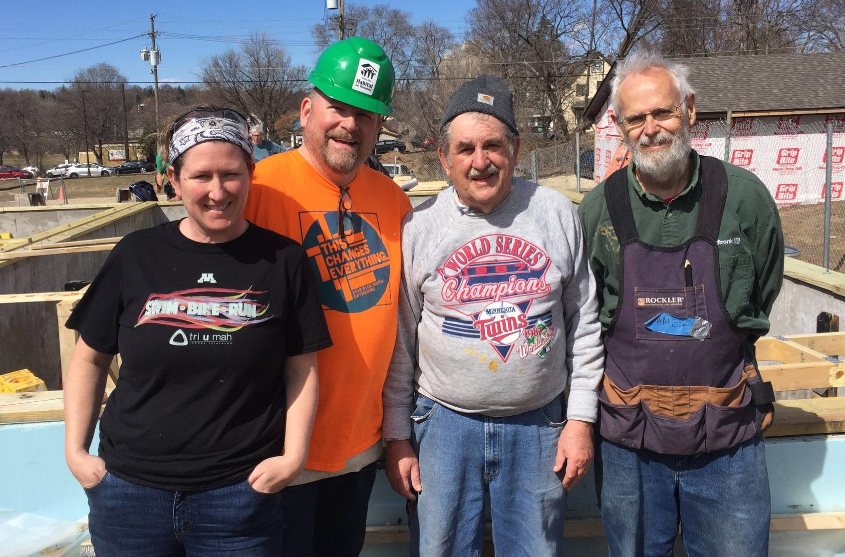 Holy Hammers Resume Building Homes July 13