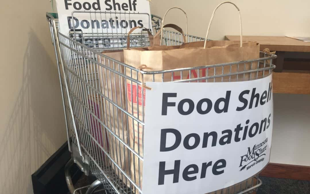 March Food Shelf Campaign