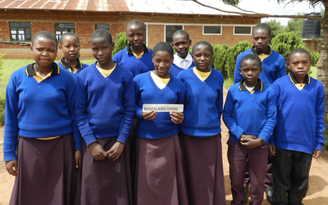 Letters from Bomalang'ombe Sponsored Students