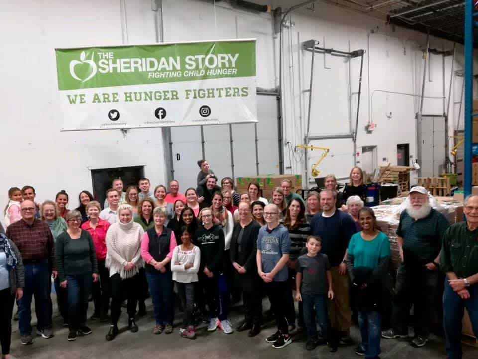 Sheridan Story Packing Event