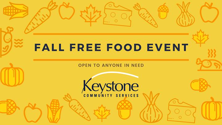Volunteers Needed for Free Food Event with Keystone Community Services
