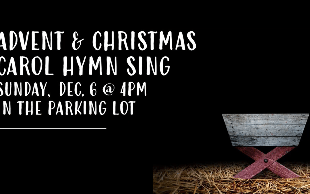 Advent & Christmas Carol Hymn Sing