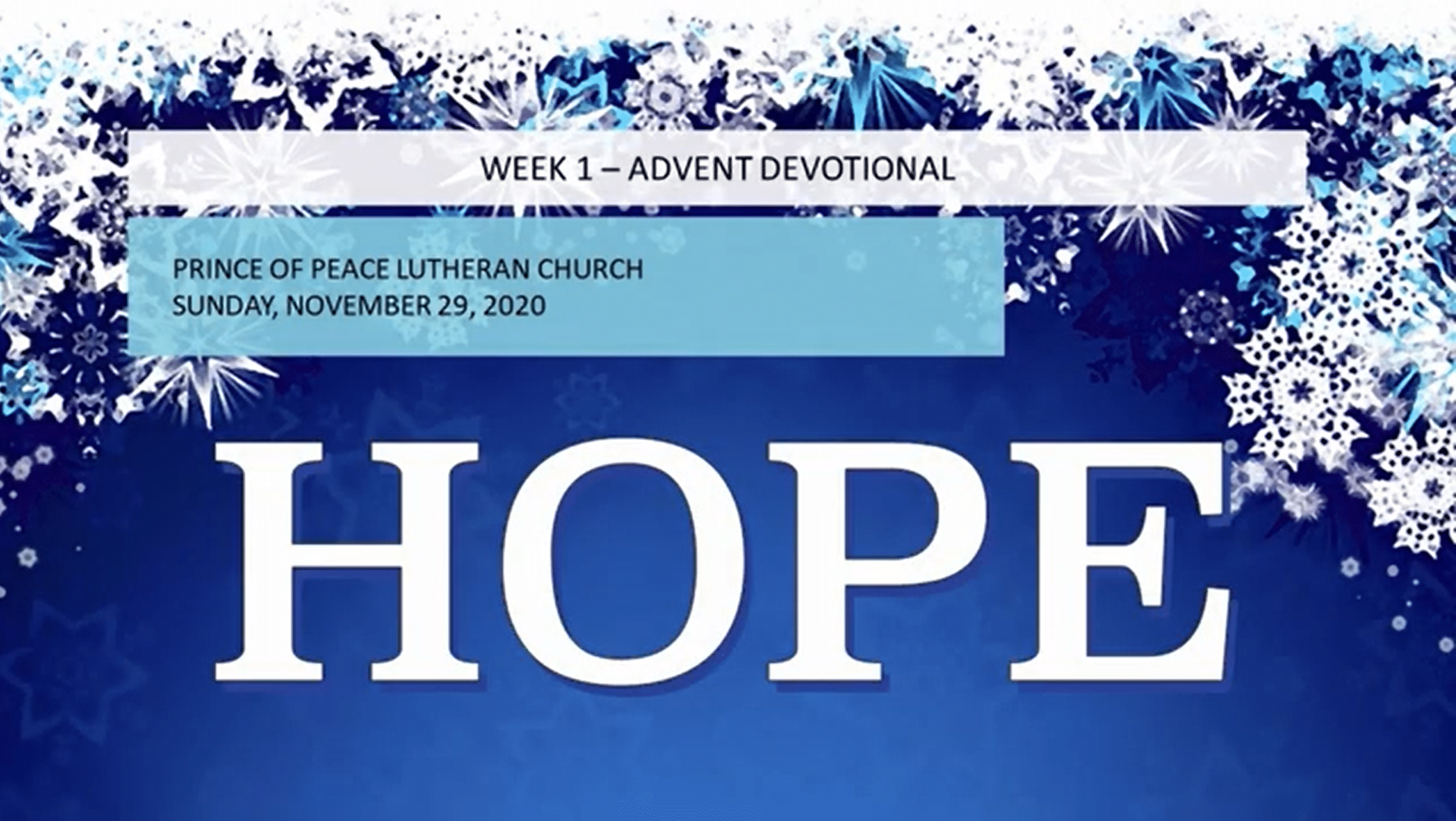 Don't miss out on the 2020 Advent Devotional Calendar!