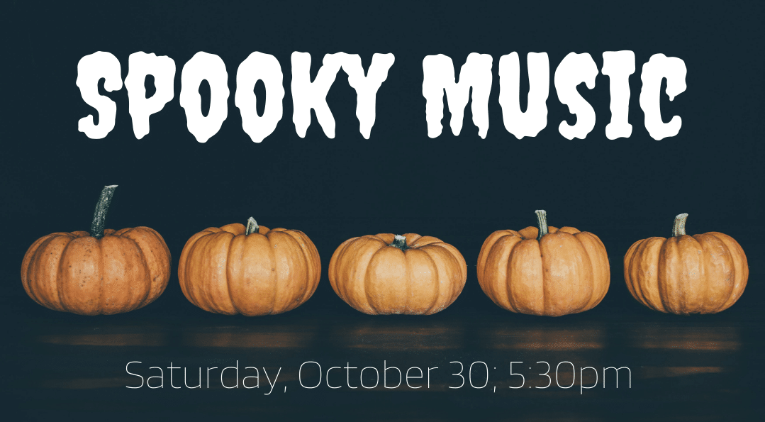 Spooky Music Outdoors!